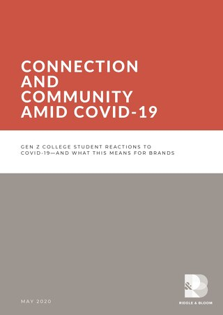 Connection And Community Amid Covid 19 R&B Whitepaper