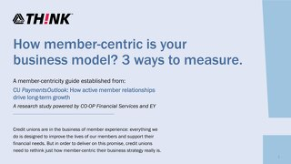 THINK21 Member Centricity Guide