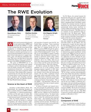 PharmaVOICE - The RWE Evolution