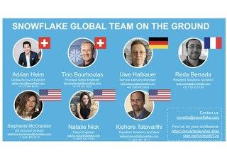 Meet Your Snowflake Team