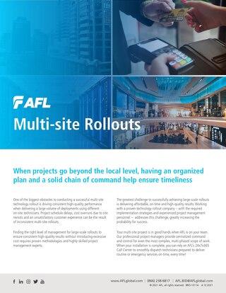 AFL Multi-Site Rollouts