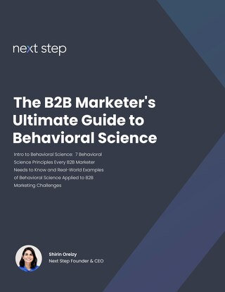 The B2B Marketer's Ultimate Guide to Behavioral Science