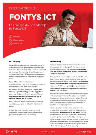 Case Study: Fontys ICT - NL