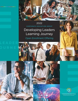 CEG Developing Leader Journey 2021 open enrollment