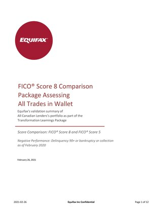 Equifax Odds Chart - FICO 5 vs FICO 8 - GENERIC CANADA ALL TRADES