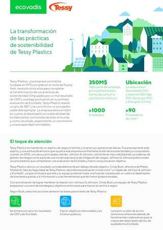 La transformación de las prácticas de sostenibilidad de Tessy Plastics