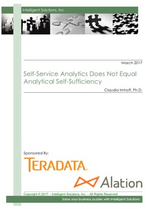 Self-Service Analytics Does Not Equal Analytical Self-Sufficiency