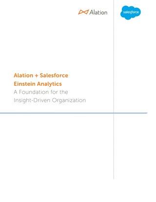 Alation + Salesforce Einstein Analytics White Paper