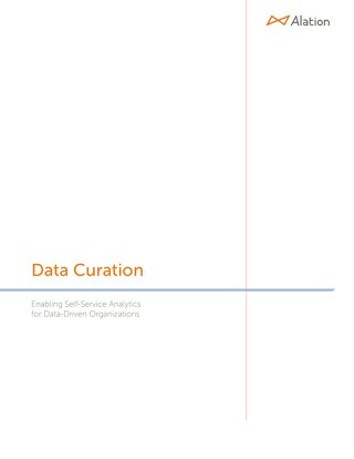 Data Curation: Enabling Self-Service Analytics for Data-Driven Organizations