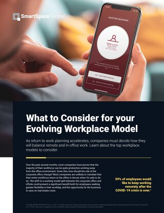 Here's What to Consider for Your Evolving Workplace Model