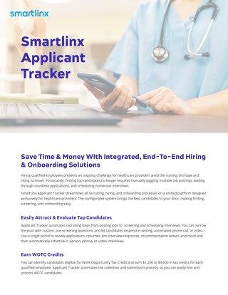 SmartLinx Applicant Tracker System