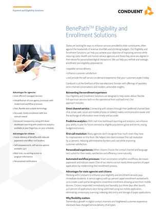 BenePath Eligibility and Enrollment Solutions