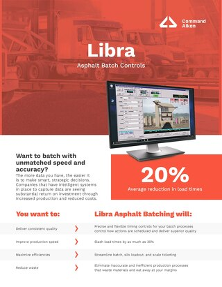 Libra Asphalt Batch Controls