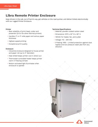 Libra Remote Printer Spec