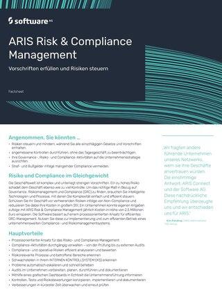 ARIS Risk & Compliance Management