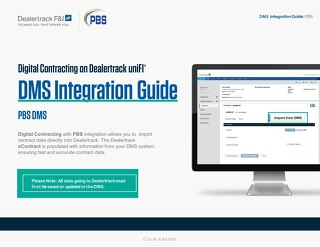 Digital Contracting DMS Integration Guide – PBS Systems