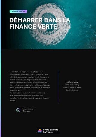 Le terme finance verte reste souvent ambigu, et les banques sont incertaines sur la meilleure façon de répondre à l'essor du marché.