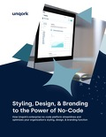 Styling, Design, and Branding to the Power of No-Code