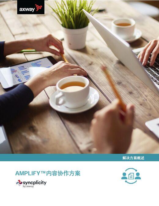 产品介绍-Amplify内容协作
