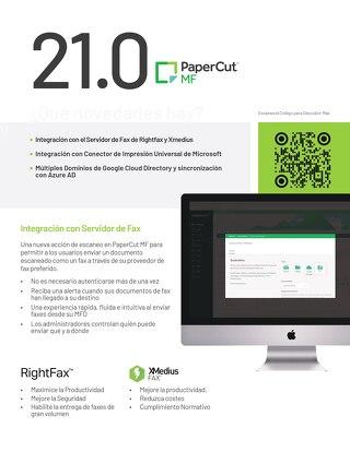 PaperCut 21.0 Overview ESP