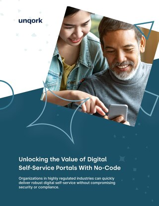 Unlocking the Value of Digital Self-Service Portals with No-Code