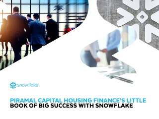 Piramal Capital Housing - Little Book of  Big Success with Snowflake