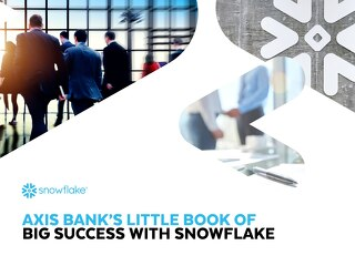 Axis Bank - Little Book of  Big Success with Snowflake
