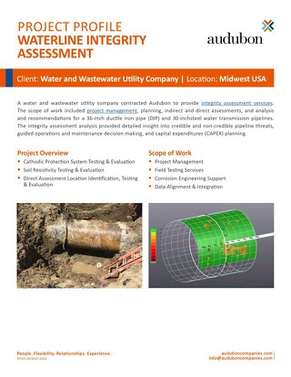 Waterline Integrity Assessment