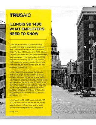 Illinois SB 1480 White Paper