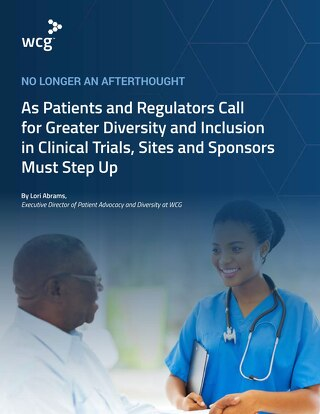 No Longer an Afterthought - A Call for Greater Diversity and Inclusion in Clinical Trials