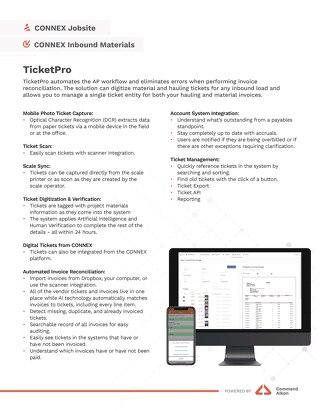 CONNEX TicketPro Spec