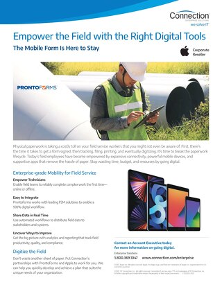 Empower the Field with the Right Digital Tools