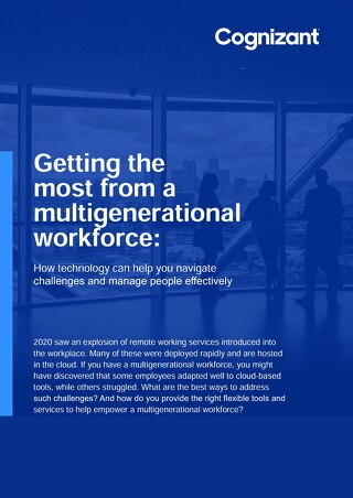 Cognizant MBG - Multigenerational Workforce Ebook - 2021