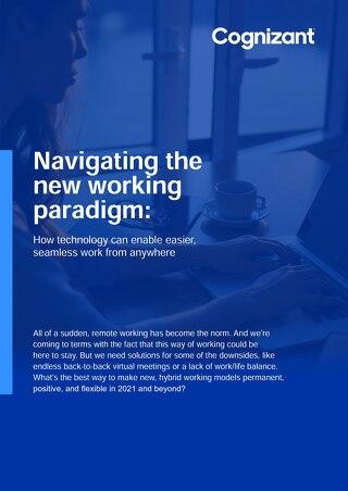 Cognizant MBG - New Working Paradigm Ebook - 2021