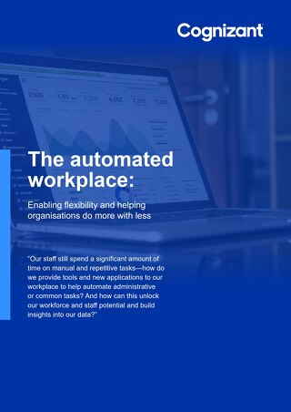Cognizant MBG - Automated Workplace Ebook - 2021