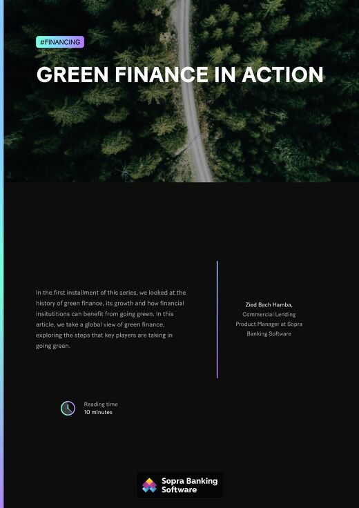 Green finance in action
