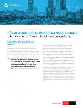 L'évolution des données dans le Cloud : la France en retard face à la transformation numérique