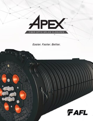 Brochure: Apex™ Fiber Optic Splice Closure