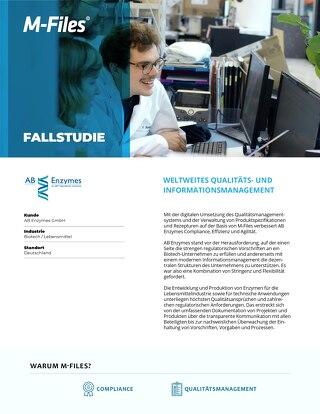 Fallstudie: AB Enzymes GmbH