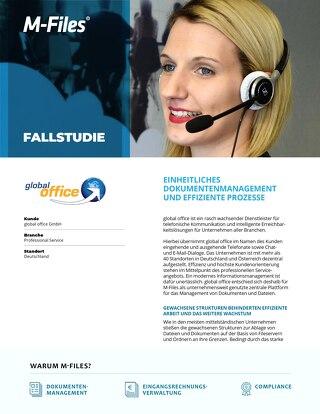 Fallstudie: global office GmbH