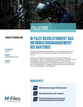 Fallstudie: Vahterus