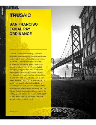 San Francisco Equal Pay Ordinance
