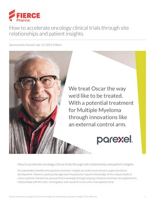 How to accelerate oncology clinical trials through site relationships and patient insights
