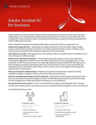 Adobe DC VIP