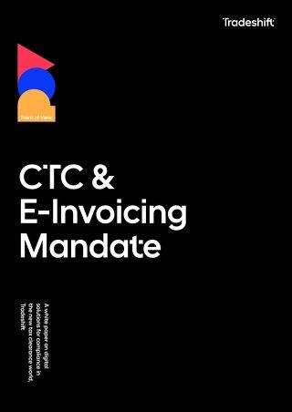 Tradeshift CTC & E-Invoicing Mandate