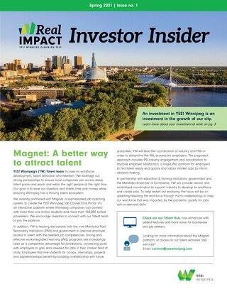 Investor Insider Q1 2021 newsletter
