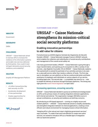 URSSAF – Caisse Nationale strengthens its mission-critical social security platforms