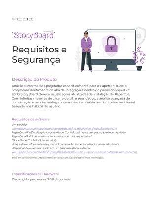 StoryBoard Data Security Brazil