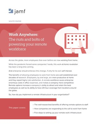 Work Anywhere: The nuts and bolts of powering your remote workforce