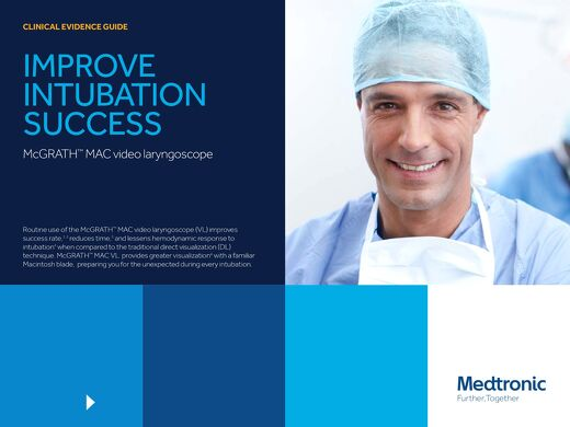 CLINICAL EVIDENCE GUIDE : IMPROVE INTUBATION SUCCESS